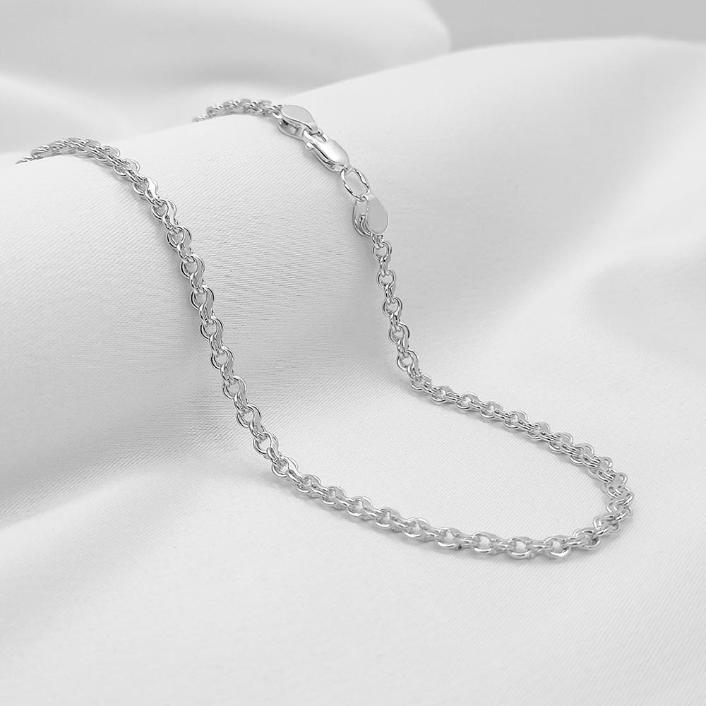Срібна цепочка - Струмок, ширина 4мм
