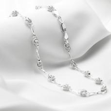 Срібна цепочка - Горіх з вісімками