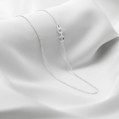 Серебряная цепочка - Якорь, ширина 1,7мм