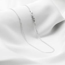 Срібна цепочка - Якір подвійний, ширина 2мм