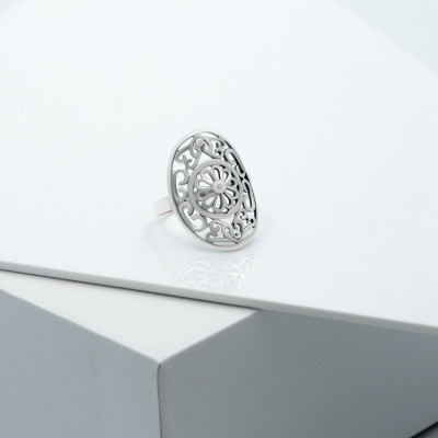 Серебряное кольцо - Фатима