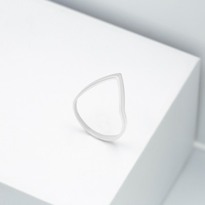 Серебряное кольцо - Молния