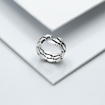 Серебряное кольцо - Рыбки