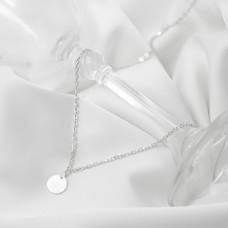 Срібне кольє - Монетка