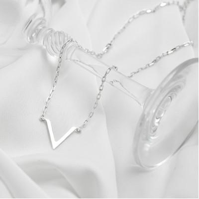 Серебряное колье - Виктория