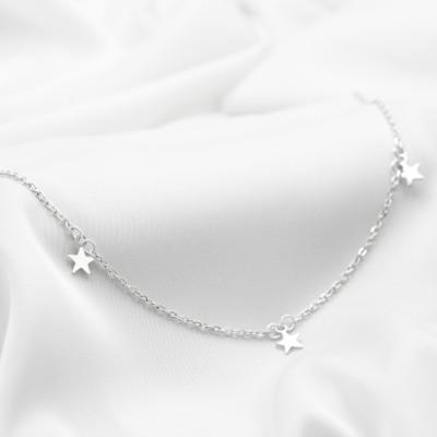 Серебряное колье - Звездочки