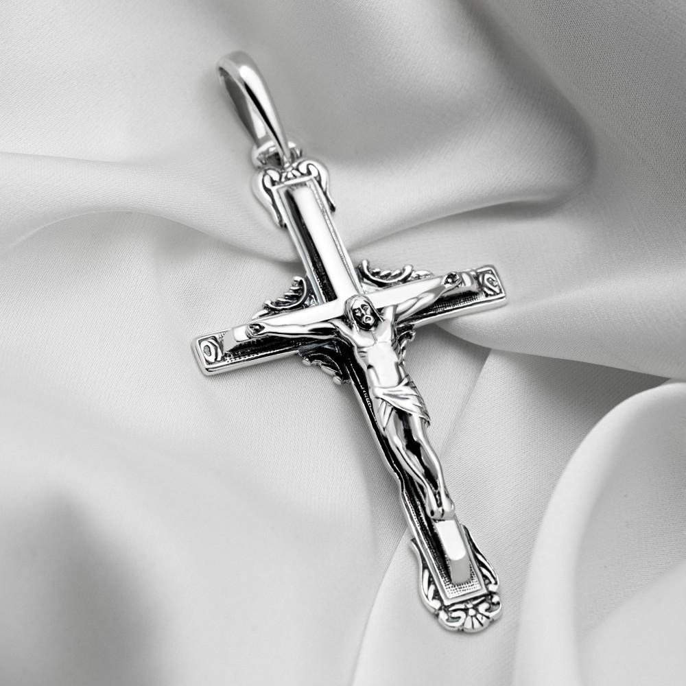 Срібний хрестик - Хрест 001