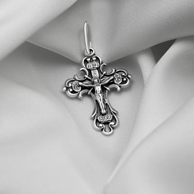 Срібний хрестик - Хрест 014