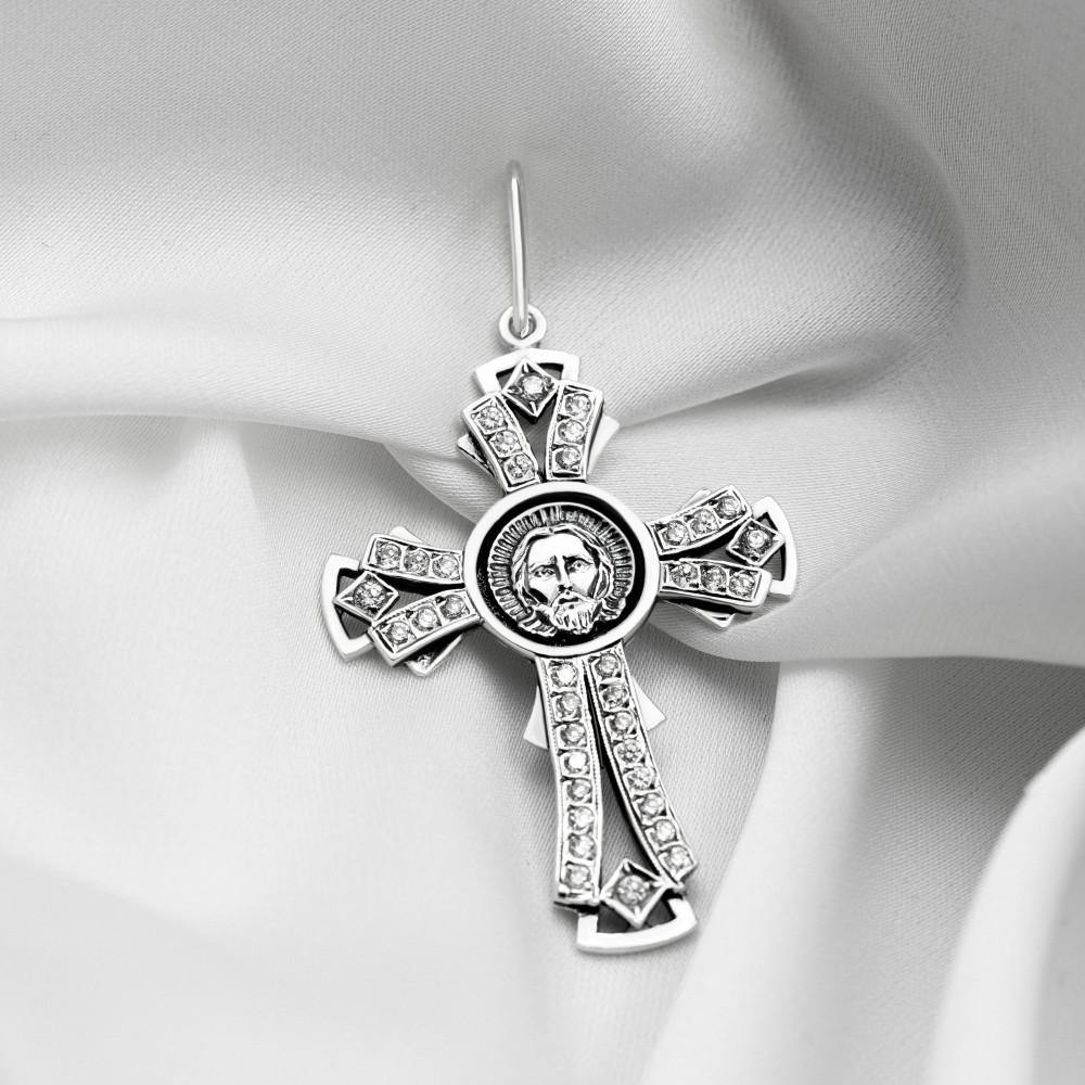Срібний хрестик - Хрест 015