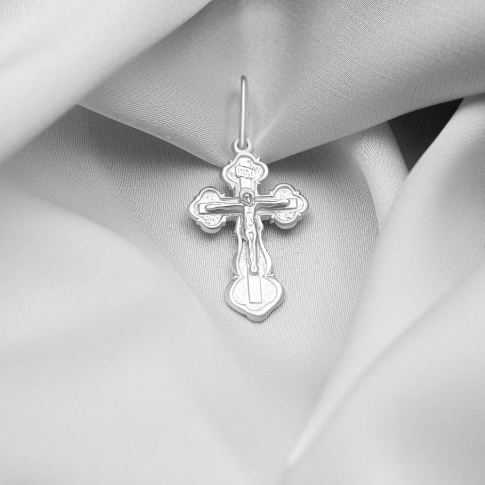 Срібний хрестик - Хрест 04