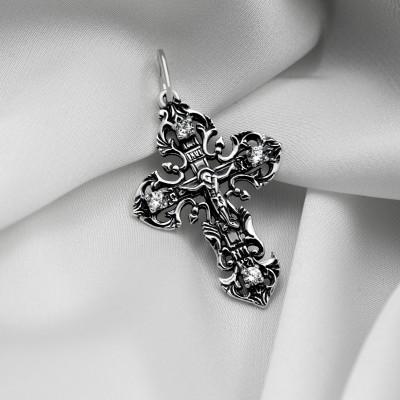 Срібний хрестик - Хрест 07