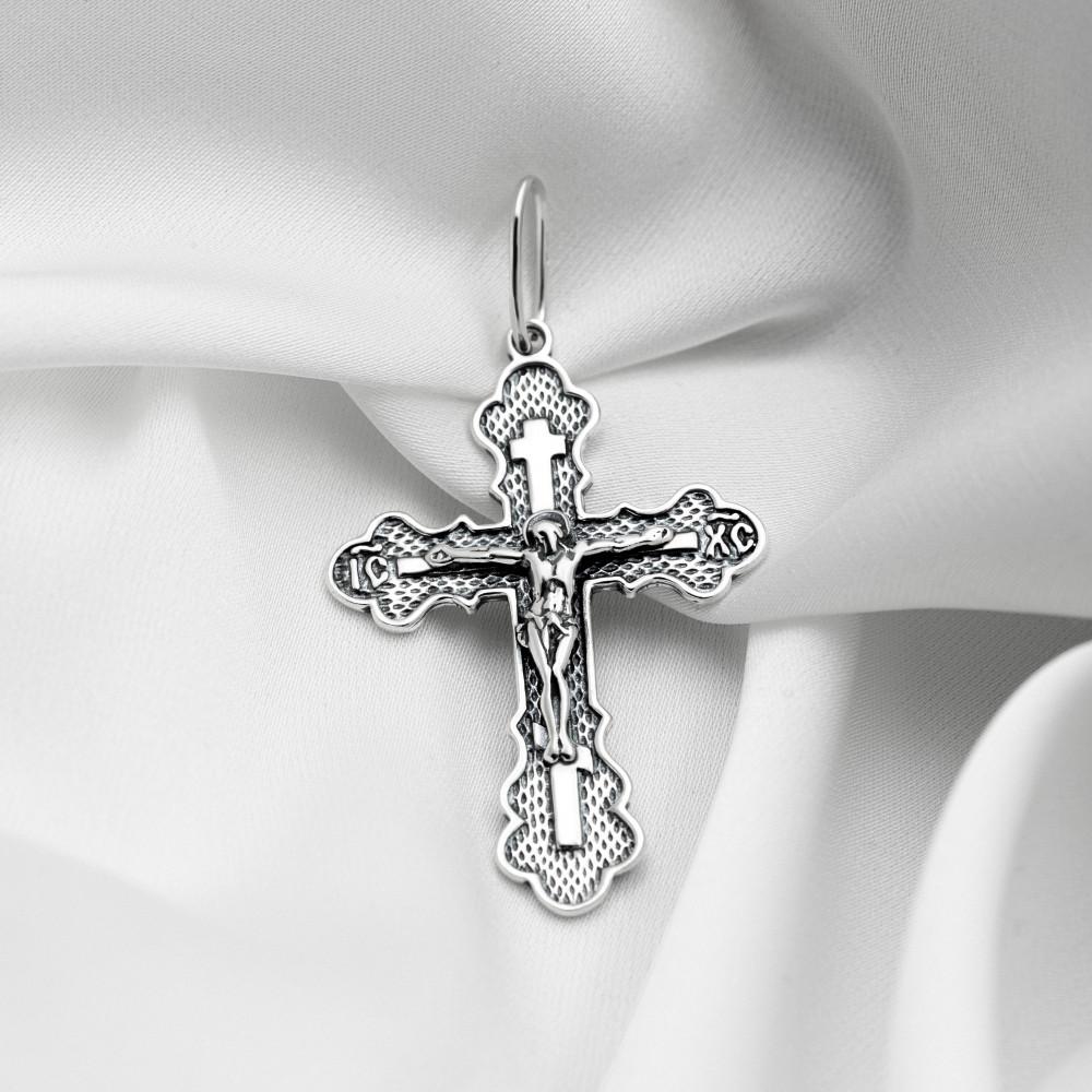 Срібний хрестик - Хрест 079