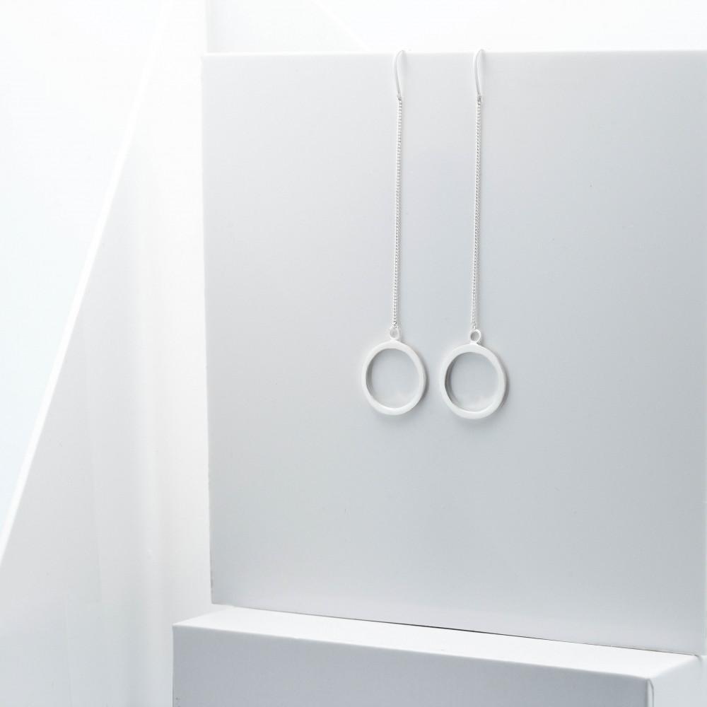 Срібні сережки - Еліс