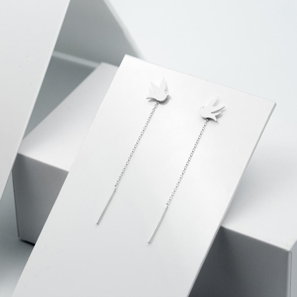 Срібні сережки - Голуби