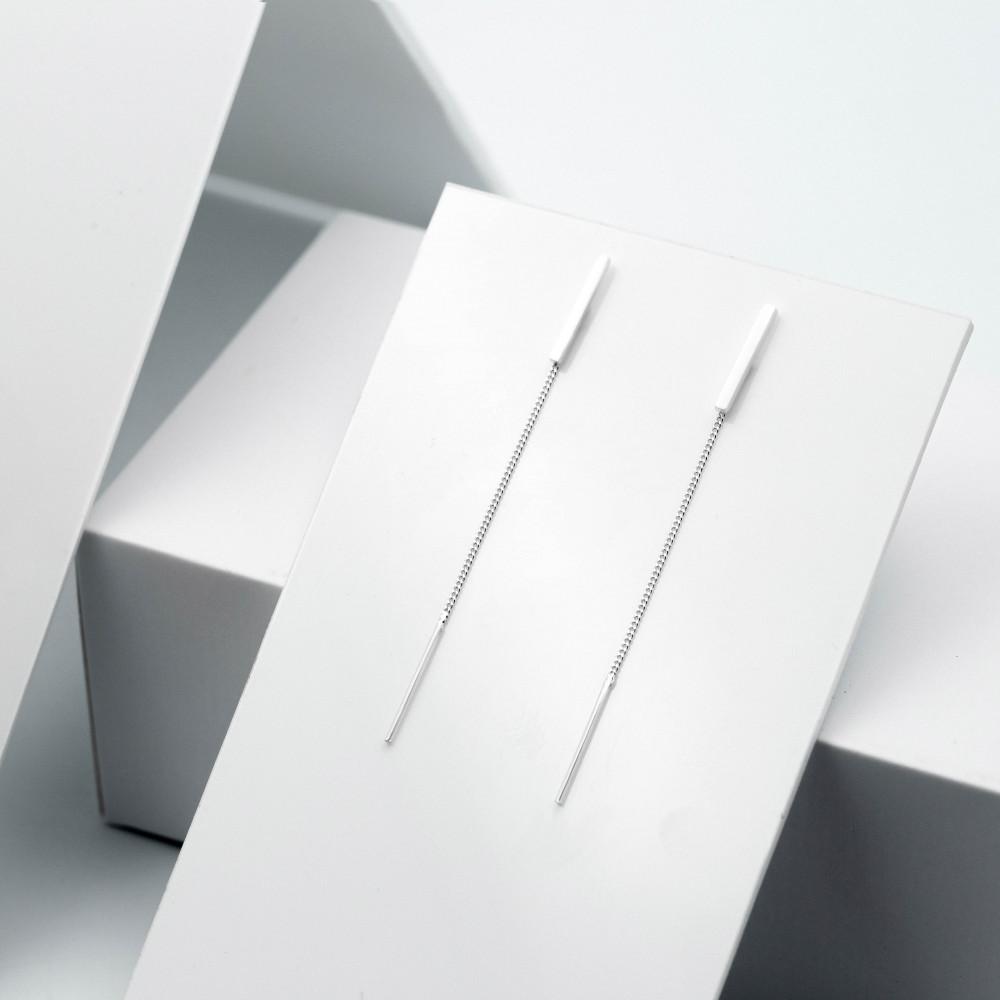 Срібні сережки - Небокрай