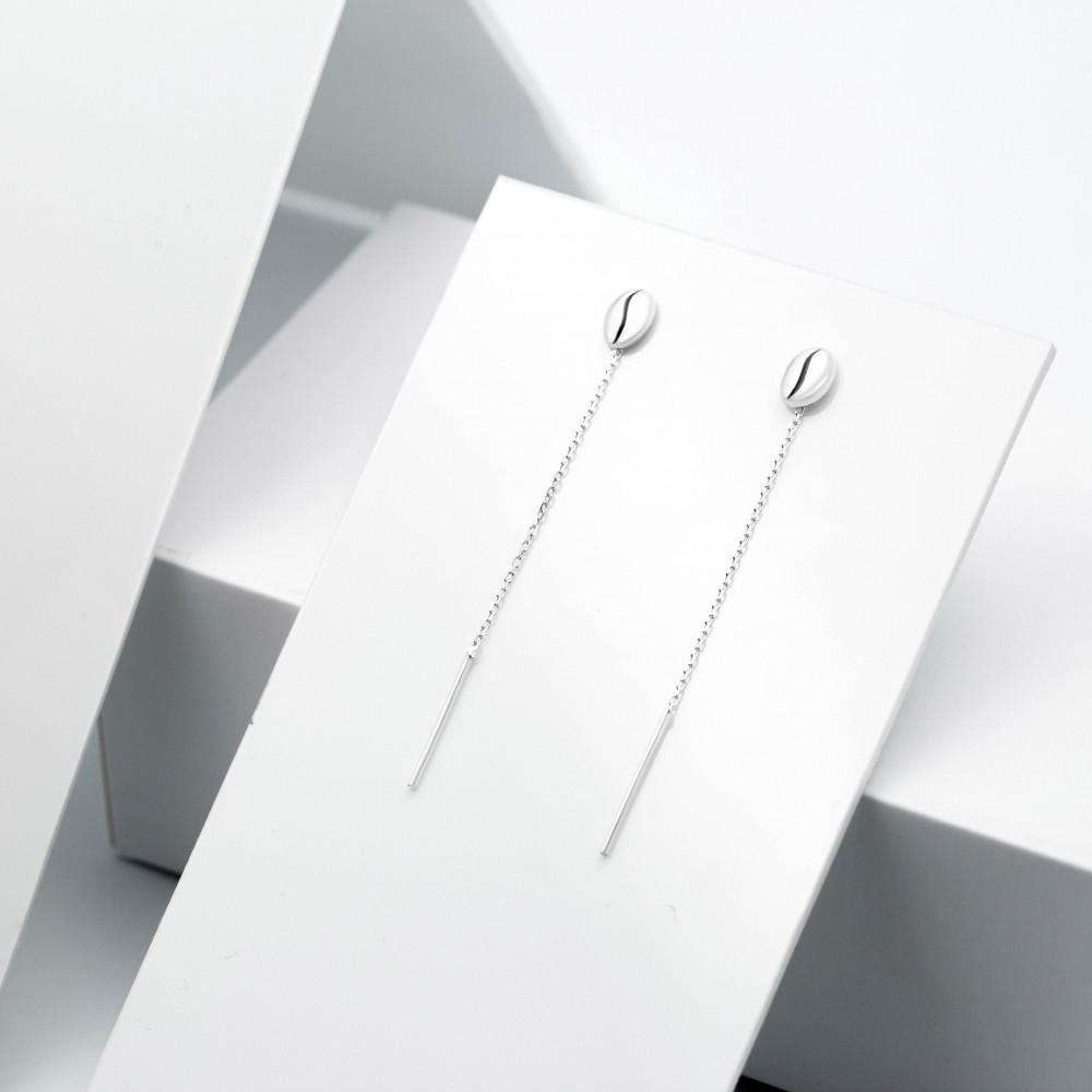Срібні сережки - Кава