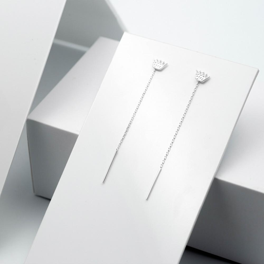 Срібні сережки - Корона