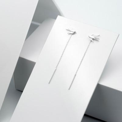 Срібні сережки - Ластівки