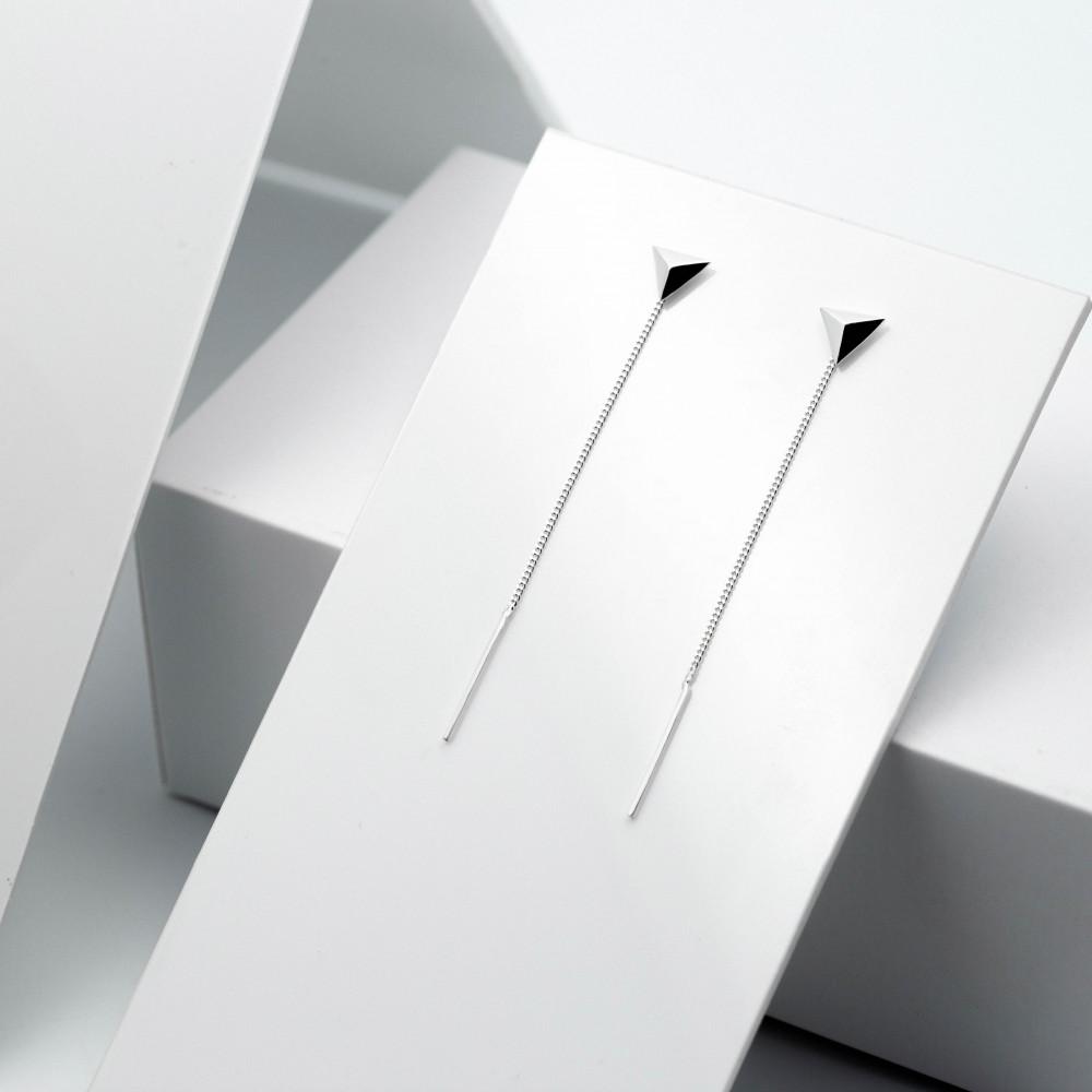 Срібні сережки - Піраміда