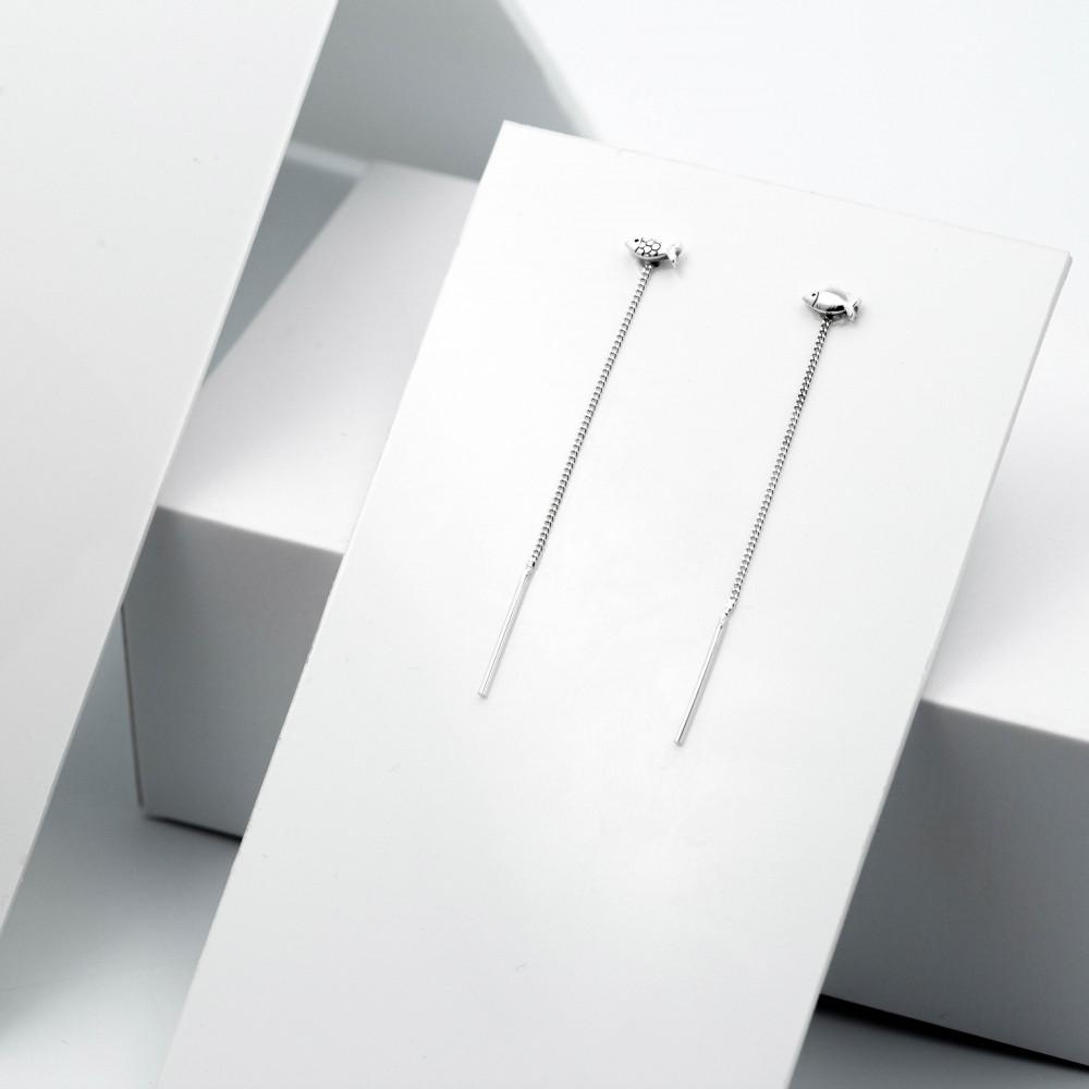 Срібні сережки - Рибки