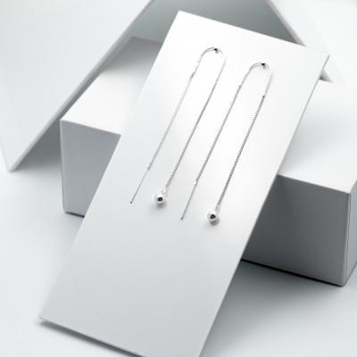 Срібні сережки - Кульки