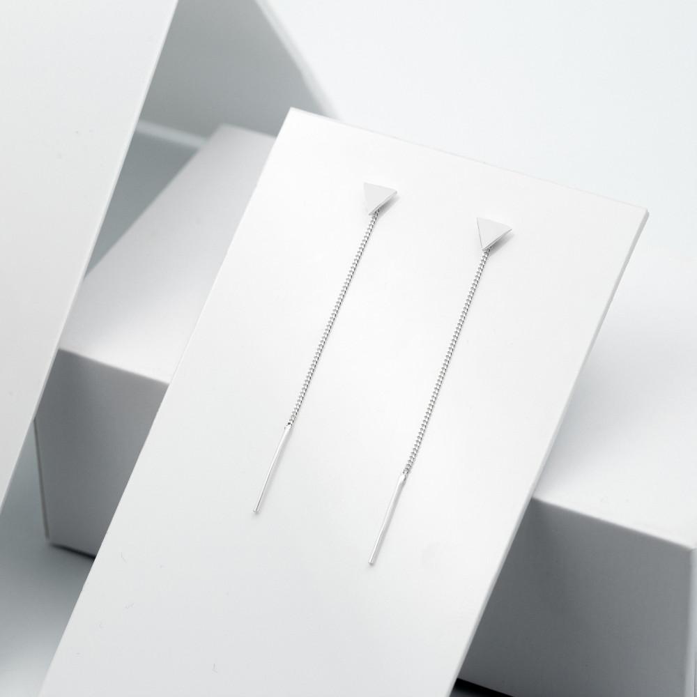 Срібні сережки - Трикутник