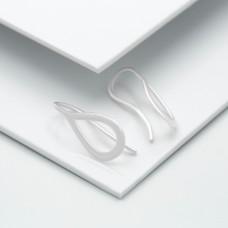 Срібні сережки - Крапля