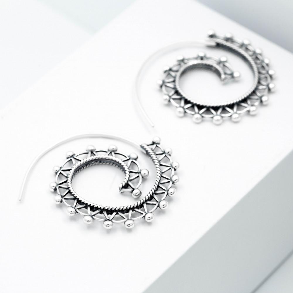 Срібні сережки - Мексика