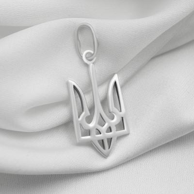 Срібний кулон - Тризуб