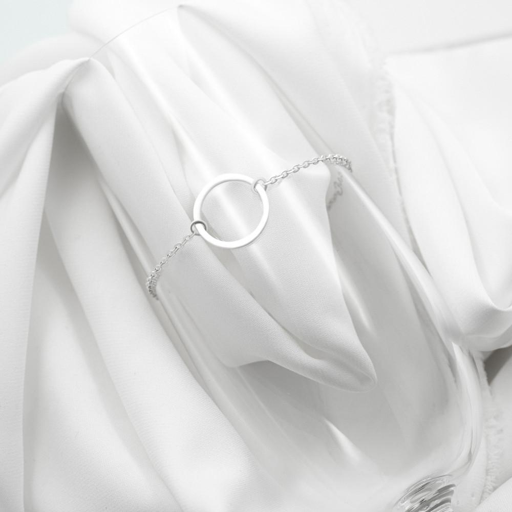 Срібний браслет - Коло