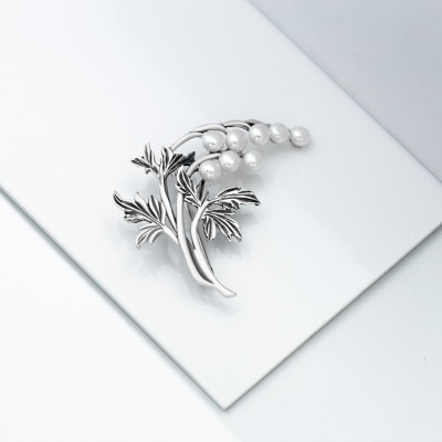 Серебряная брошь - Николь
